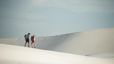 desert-trekking-couple