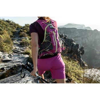 Short de randonnée en montagne MH500 Femme Rouge orangé