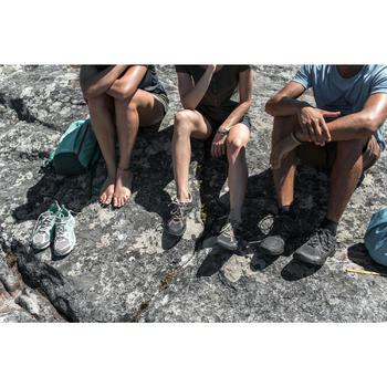 Schoenen voor wandelen in de natuur NH500 zwart heren