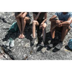 Wanderschuhe Naturwandern NH100 Herren schwarz