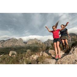 Hosenrock Naturwandern NH100 Damen bordeaux