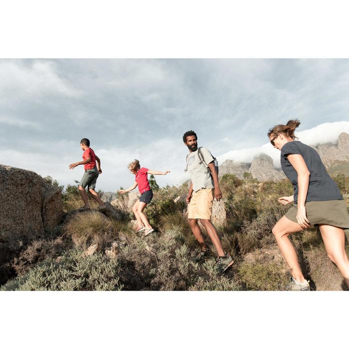 Wandersandalen NH500 Kinder Jungen rot