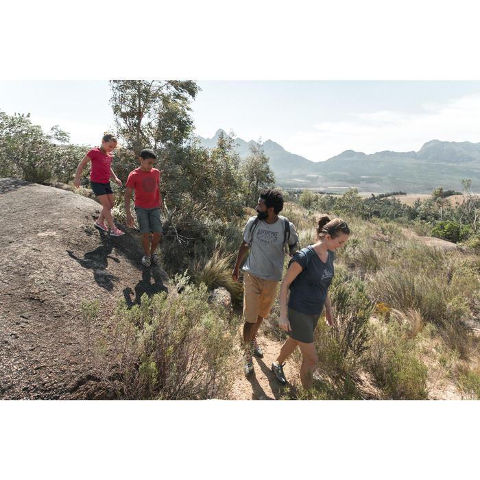 Wandersandalen NH500 Kinder Jungen grün