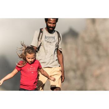 T-Shirt de randonnée enfant Hike 500 hibou - 1023432