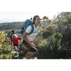Kuitbroek voor bergwandelen dames MH500 kaki
