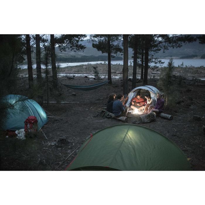 Pullover Naturwandern NH100 Damen marineblau