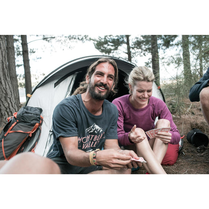 Pop up tent 2 Seconds 3 Fresh & Black I 3 personen wit - 1023584