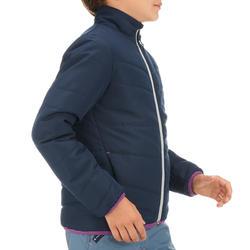 Gewatteerde meisjesjas voor trekking Hike 100 - 1023685