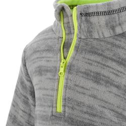 Children's Hiking Fleece Sweater MH120 grey