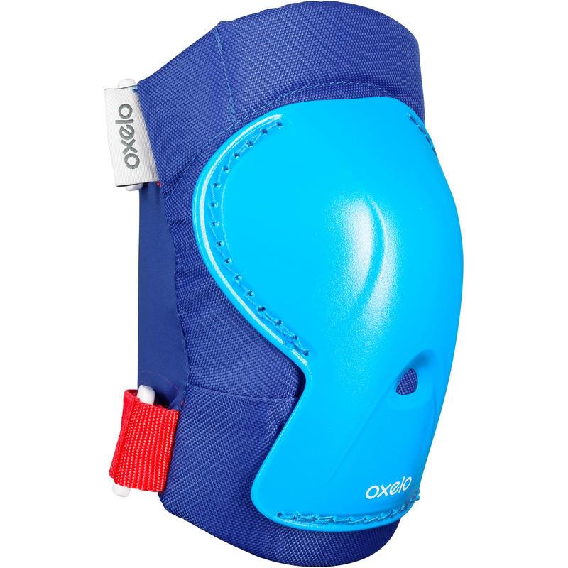 ชุดสนับป้องกันสำหรับเด็กเล่นอินไลน์สเก็ตรุ่น Play (สีฟ้า)