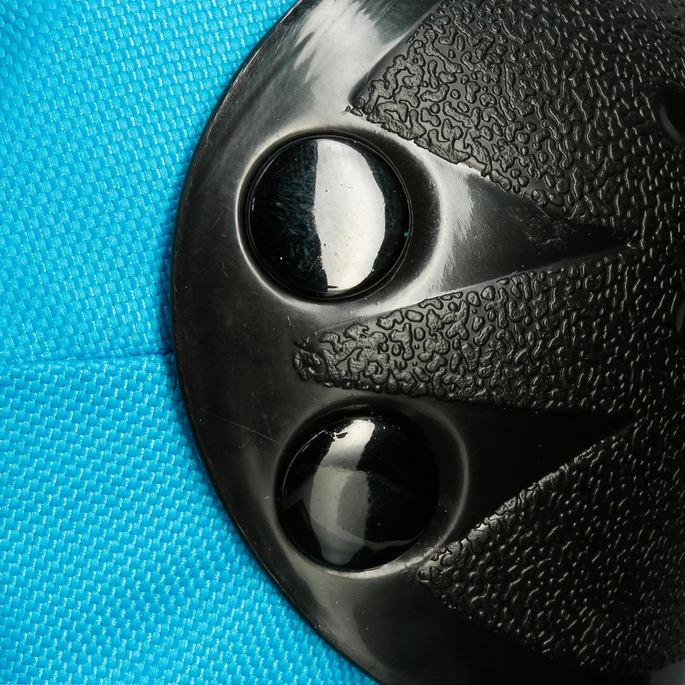 Ens. de 3 protections pour patin, skateboard trottinette pour enfant BASIC bleu