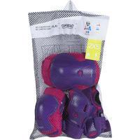 Set Protecciones Roller Play Niños Rosa