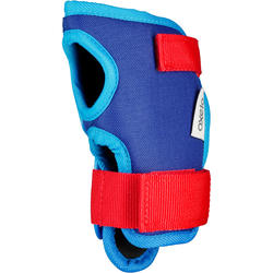 Play Kids Inline Skate Skateboard and Scooter Protectors Set of 3 - Blue/Red