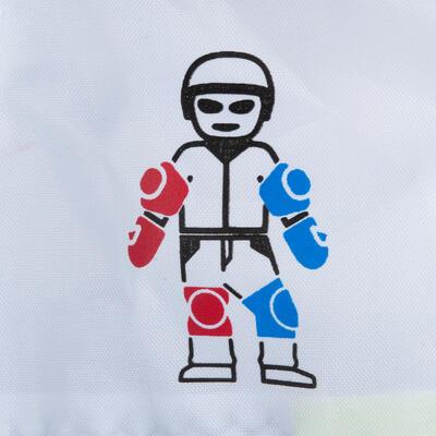 ערכת מגנים 3 חלקים Play לילדים להחלקה על רולרבליידס, סקייטבורד או קורקינט - שחור