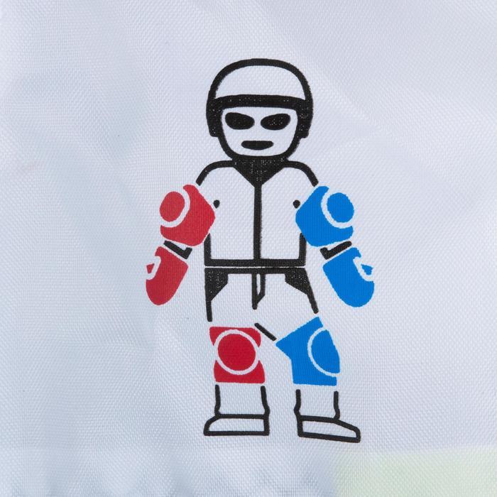 Set van 3 beschermers voor kinderen voor skeeleren, skateboard, step Basic blauw