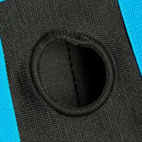 Set 3x2 protections roller skate trottinette enfant BASIC bleu