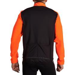 Fietsjas 100 voor heren oranje