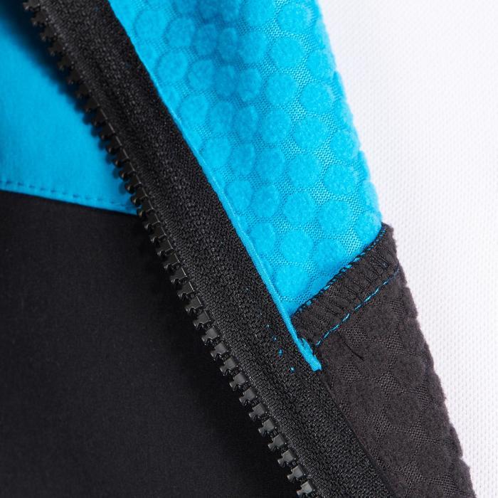 Fietsjas 500 voor heren zwart blauw