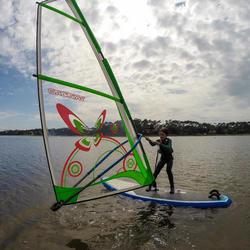 Windsurf tuigage 3 m² voor kinderen monofilm - 102466