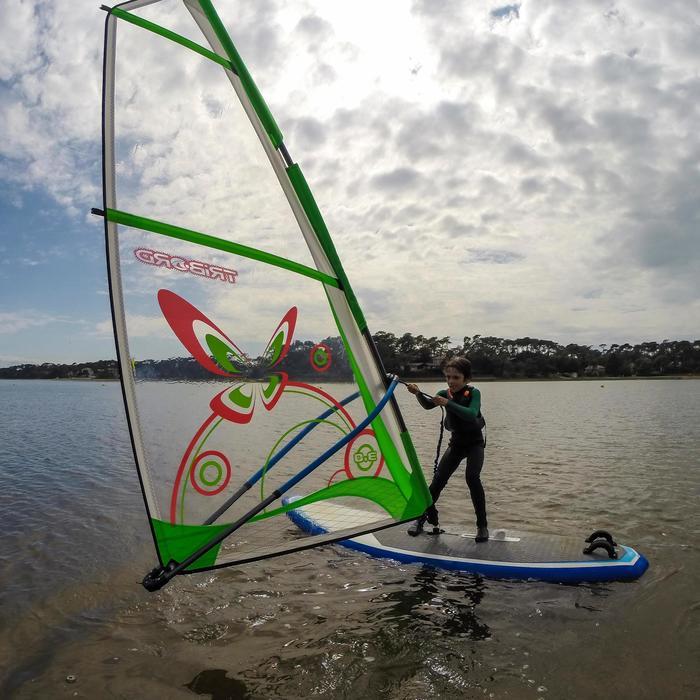 Gréement Windsurf 3m² monofilm