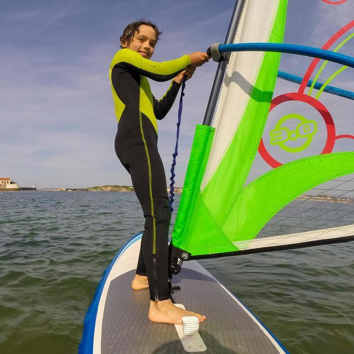 Combinaison SURF 100 Néoprène 2/2 mm Enfant Vert - 102479