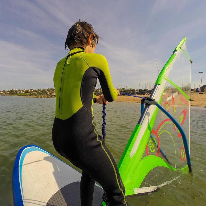 Combinaison SURF 100 Néoprène 2/2 mm Enfant Vert - 102481