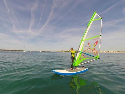 100 Children's 2/2 mm Neoprene Surfing Wetsuit - Green
