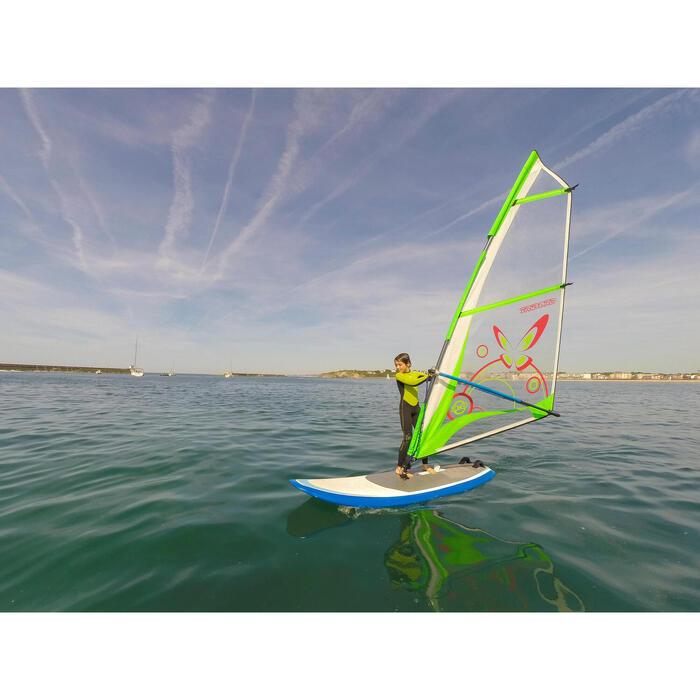 Neoprenanzug Surfen 100 2/2mm Kinder grün