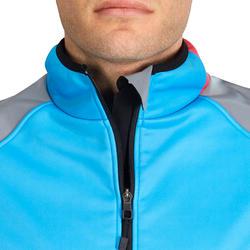 Fietsjack heren Aerofit Team zwart/blauw/roze - 1025168