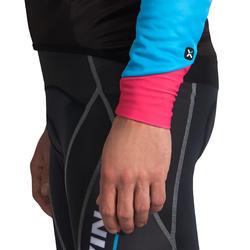 Fietsjack heren Aerofit Team zwart/blauw/roze - 1025174