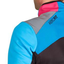 Fietsjack heren Aerofit Team zwart/blauw/roze - 1025183