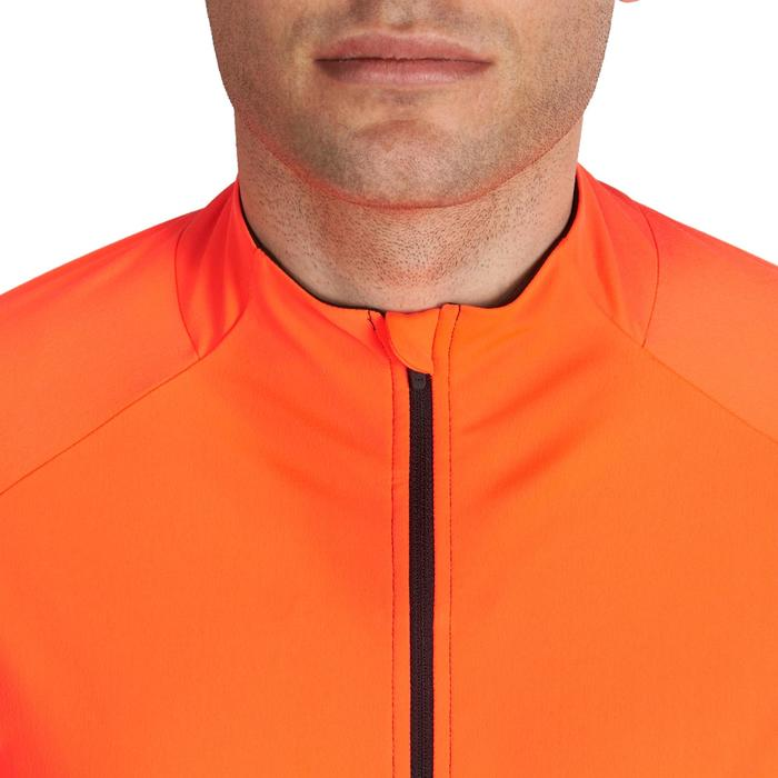 MAILLOT ML VELO 900 ORANGE