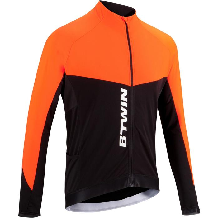 MAILLOT VELO ROUTE MANCHES LONGUES HOMME CYCLOTOURISTE 9000 - 1025336