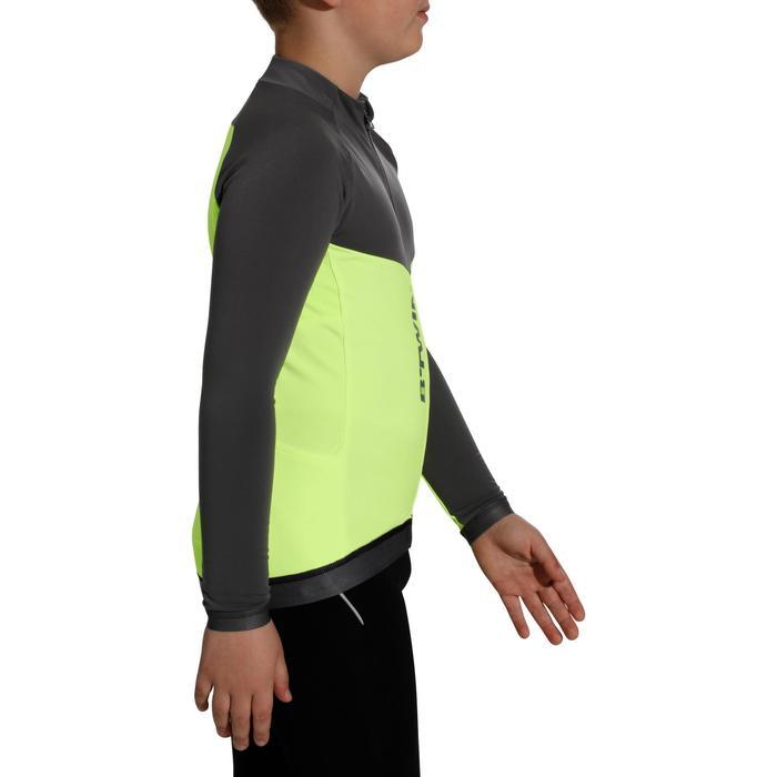 Shirt 900 met lange mouwen voor kinderen geel