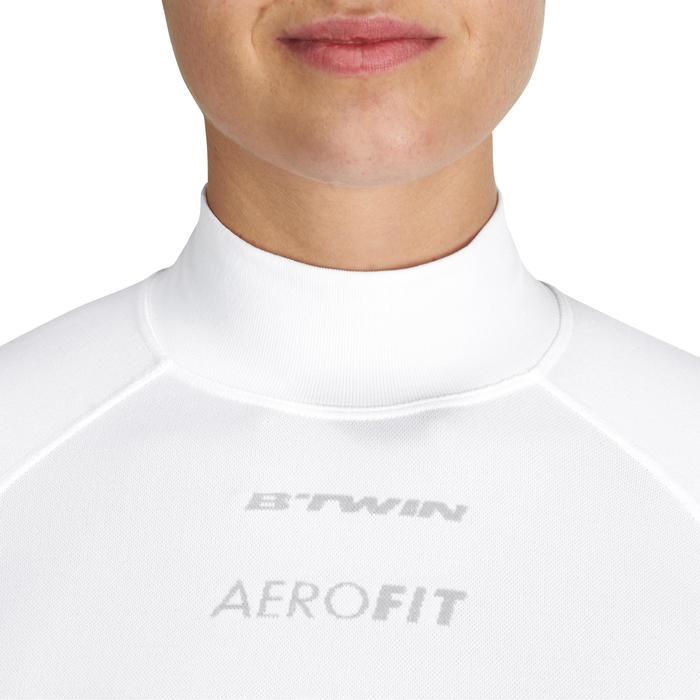 Prenda interior de manga larga ciclodeporte mujer blanco
