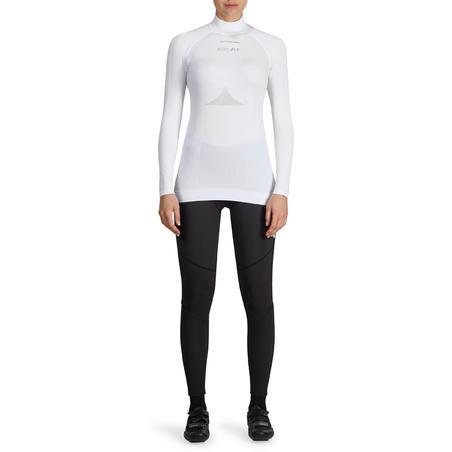 Sous-vêtement à manches longues cyclosport blanc - Femme