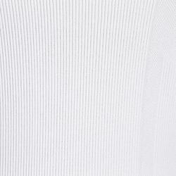 Fahrradunterwäsche Langarm Radsport Damen weiß