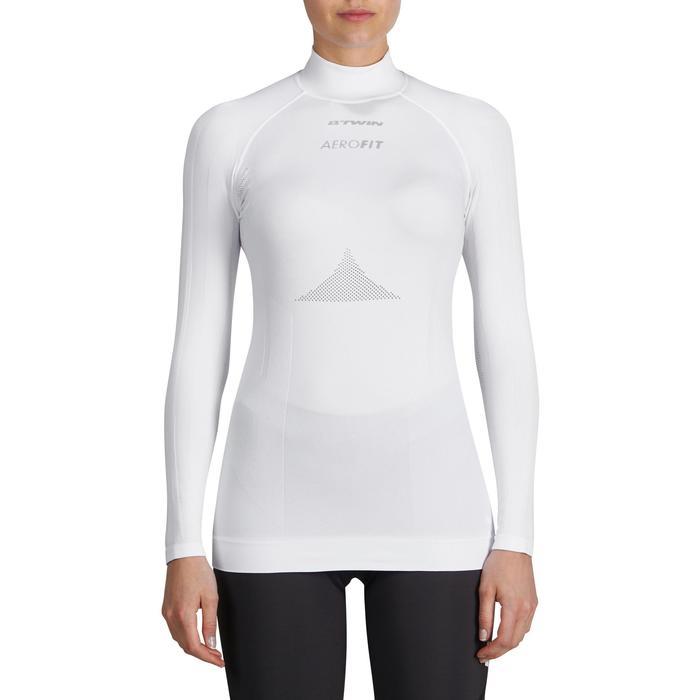 Sous-vêtement manches longues cyclosport femme blanc