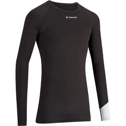 500 Long-Sleeved Road Cycling Base Layer - Black