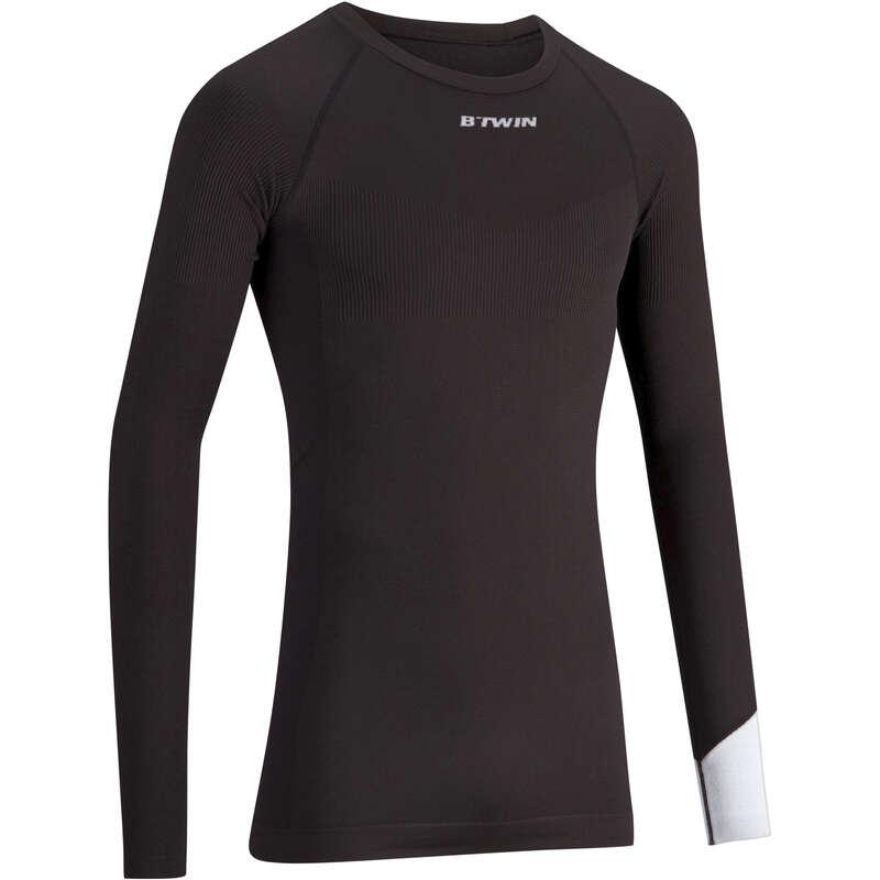 MEN COLD WEATHER ROAD BASELAYER - RC 500 Long Sleeve Cycling Base Layer - Black VAN RYSEL