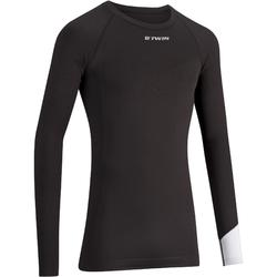 500 Long-Sleeved Cycling Base Layer - Black