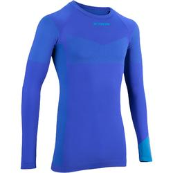 500 Long-Sleeved Road Cycling Base Layer - Blue