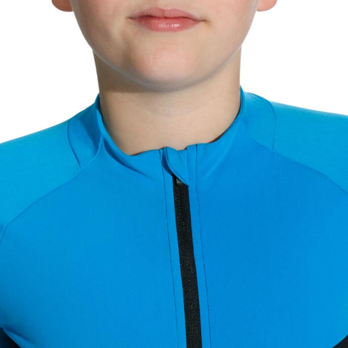 Shirt 900 met lange mouwen voor kinderen blauw