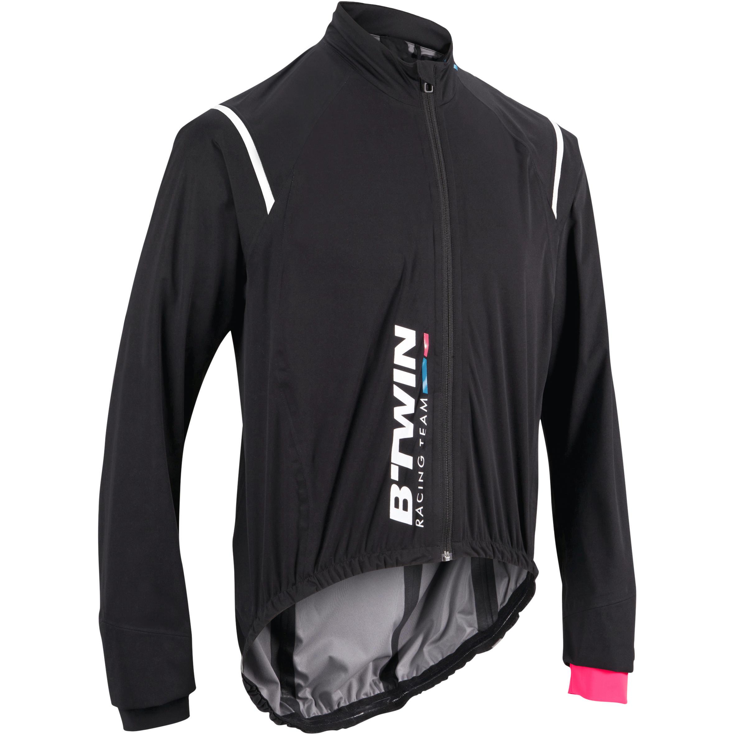 900 Cycling Rainproof Jacket - Black