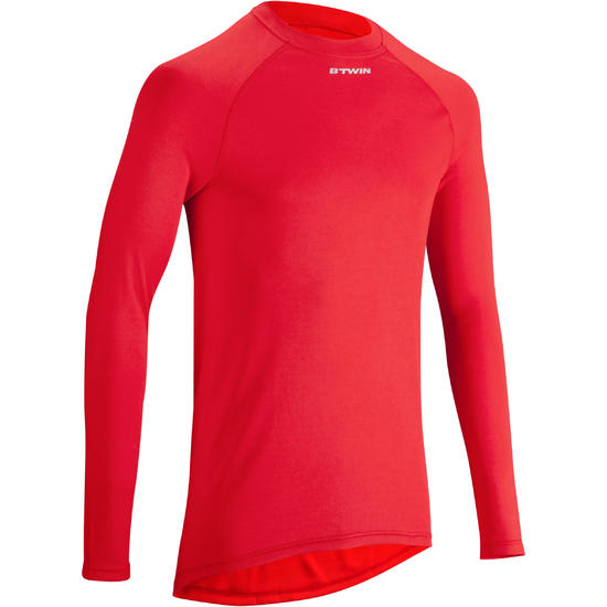 Fietsondershirt met lange mouwen dames 100 - 1025647