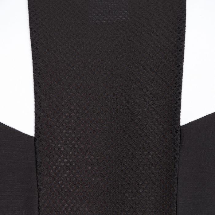 Lange fietsbroek 500 met bretels heren wielrennen koud weer zwart