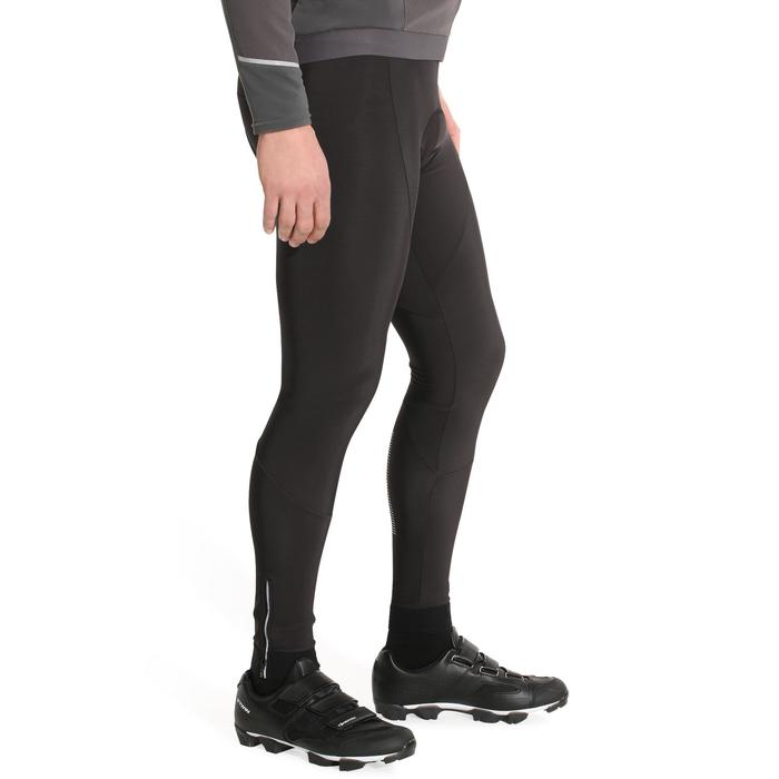Wielrenbroek RC500 lang zonder bretels heren zwart