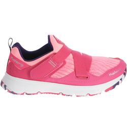 Hardloopschoenen voor meisjes Eliofeet fluoroze - 1025892