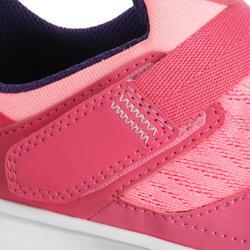 Hardloopschoenen voor meisjes Eliofeet fluoroze - 1025894