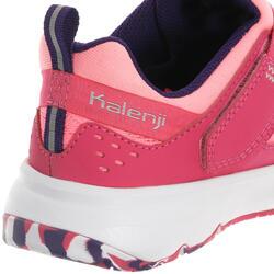 Hardloopschoenen voor meisjes Eliofeet fluoroze - 1025895